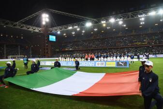 En fotos: Italia no pasó del empate contra Ucrania en amistoso y luce lejos de su grandeza