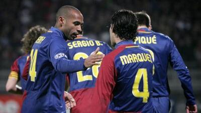 Rafa Márquez y el buen recuerdo del Lyon vs Barcelona