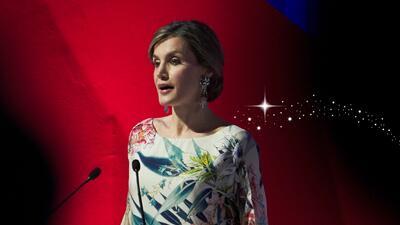 Doña Letizia, la reina de los vestidos de 40 euros
