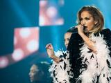 Jennifer Lopez celebrates the big 5-0 with fans in San Antonio