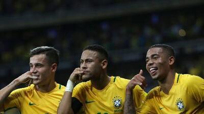 Brasil anunció numeración de Neymar, Marcelo, Coutinho y compañía