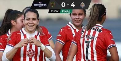 ¡Debut perfecto! Chivas gustó, ganó y goleó en inicio de la Liga MX Femenil