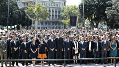 Barcelona nos recuerda que la unidad es el único camino frente al terrorismo
