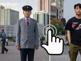 Fotografías interactivas: Vidas similares pero en dos países históricamente enemigos