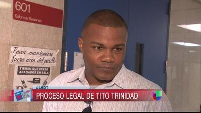 Tito Trinidad y el Banco Popular tuvieron su segundo round en corte
