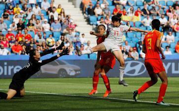 En fotos: España y China empatan y pasan a Octavos de Final del Mundial de Fútbol Femenino