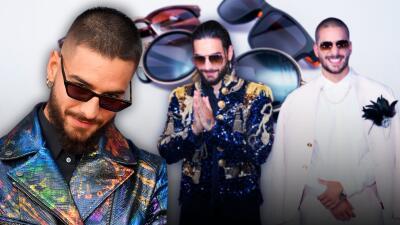 La afición de Maluma por las gafas de sol, te damos un recorrido por su colección