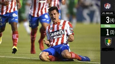 Atlético de San Luis es el primer finalista del Clausura 2019 en el Ascenso MX