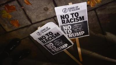 Reports of racist incidents have increased since Donald Trump was elected president