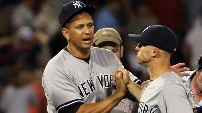 Yankees derrotan a Boston con jonrón