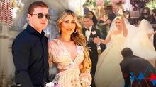 Esto habría pagado el 'Canelo' Álvarez a los artistas que cantaron en su boda