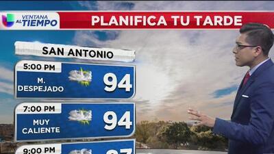 A partir de la madrugada, San Antonio tendrá lluvias con posibles descargar eléctricas