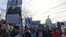 Los dreamers protestan en Washington para pedir que el Congreso les proteja antes de que acabe el año