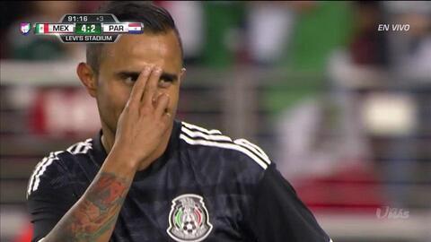 ¡GOOOL! Luis Montes anota para Mexico