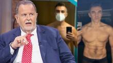 Raúl se pregunta cuánto tiempo le tomaría lograr el abdomen que Adrián Uribe ahora presume tras bajar de peso