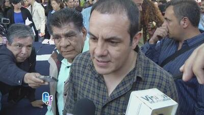 Cuauhtémoc Blanco se defendió y arremetió contra el gobernador de Morelos
