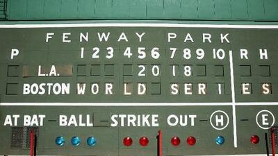 La historia dicta que Red Sox barrerá a Dodgers en la Serie Mundial
