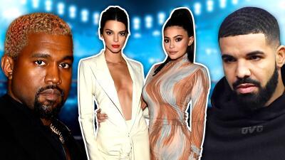 Kendall y Kylie Jenner recibieron el 2019 en compañía de Drake, a pesar del pleito que tiene con Kanye West