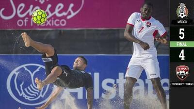 El Tri de playa se mete en Semifinales del Campeonato de Concacaf