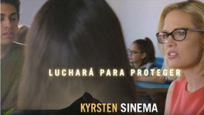 La candidata demócrata al senado federal por Arizona busca el voto hispano con anuncio en español
