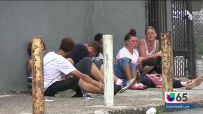 Aumenta el número de personas sin hogar con problemas de drogadicción en una comunidad de Filadelfia