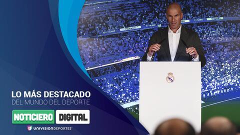 Noticiero digital: Los refuerzos que pide Zidane, CR7 no extraña al Madrid y graves problemas para el City