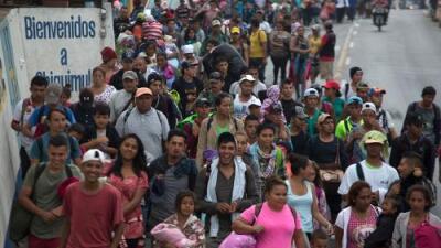 Siete cosas que debes saber de la 'caravana de migrantes' que viaja a EEUU