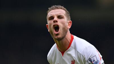 Jordan Henderson, capitán del Liverpool, se pierde el resto de la temporada por lesión