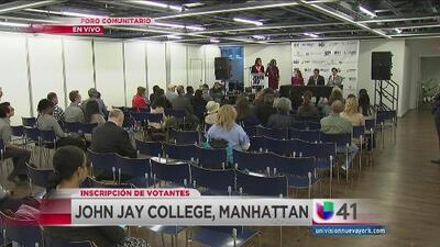 Univision 41 colabora para crear un foro comunitario para la inscripción de votantes