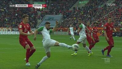 ¡Gol de vestidor! Marco Richter sorprende al Bayern