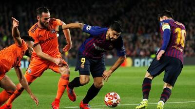 Luis Suárez: ''En la jugada del penal yo pisé al rival sin querer''