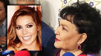 Decidida a darle su amor y apoyar a Frida Sofía, Carmen Salinas reacciona indignada contra el ex de la cantante