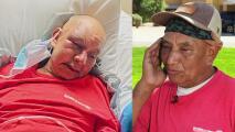 """Me empezó a patear"": jardinero hispano da su testimonio tras ser brutalmente golpeado y robado"