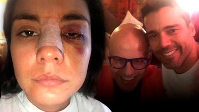 Rompe el silencio presunto testigo de la golpiza que le propinaron a la actriz Eileen Moreno