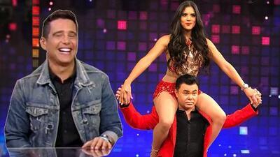 Alejandro Chabán piropea las piernas de Francisca Lachapel por un baile al estilo JLo
