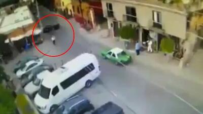 Captado en cámara: este es el video del momento del asesinato del novio de Sharis Cid