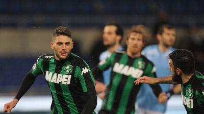 Lazio 0-2 Sassuolo: Sassuolo sorprende en la cancha de Lazio