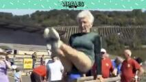 Johanna Quass, la increíble gimnasta de 95 años