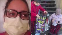"""""""Es duro"""": contagiada con coronavirus aislada en su casa lamenta no poder abrazar a sus hijos durante las festividades"""