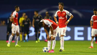 Dinamo Zagreb 2-1 Arsenal: Los Gunners no pueden con el Dinamo
