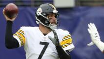 Ben Roethlisberger, entre los jugadores aislados por Steelers