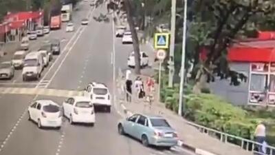 Atropellan a seis personas en otra sede mundialista, una muere