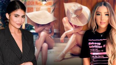 Le lanzaron una indirecta a Kylie Jenner en una de sus fotos y ella respondió inspirada en Kim Kardashian