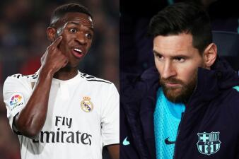 Caras del Clásico: la ida en la Semifinal de Copa del Rey en los rostros de los jugadores