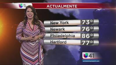 El clima para Nueva York