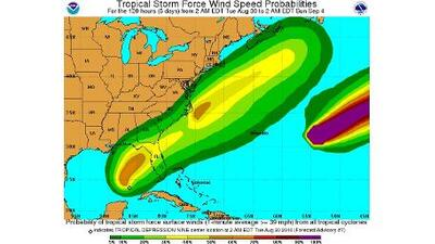 Depresión tropical en el Golfo México amenaza al centro de Florida