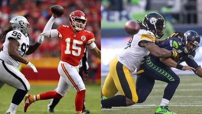 Los Chiefs quieren seguir impresionando y los Steelers buscan mejorar