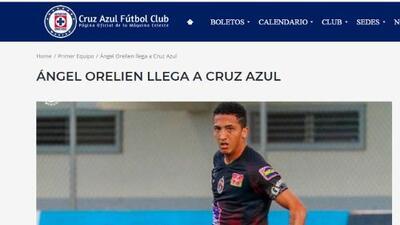 Oficialmente Cruz Azul tiene ya su 'Lainez' panameño Ángel Orelien