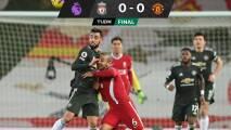 Liverpool no pudo con el United que sigue líder en la Premier