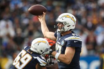 Los diez quarterbacks con mejores registros en la presente temporada de la NFL